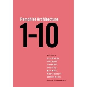 Pamphlet Architecture 1 – 10