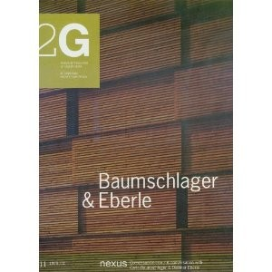 2G 11: Baumschlager & Eberle OUT OF PRINT