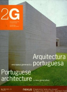 2G 20: Portuguese Architecture OUT OF PRINT