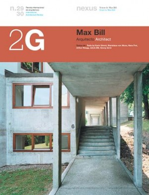 2G 29/30: Max Bill. Architect – Currently Unavailable
