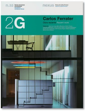 2G 32: Carlos Ferrater OUT OF PRINT