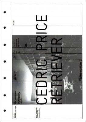 Cedric Price: Retriever edited by Eleanor Bron & Samantha Hardingham