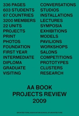 AA Book: Projects Review 2009