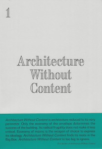 architecturewithoutscan