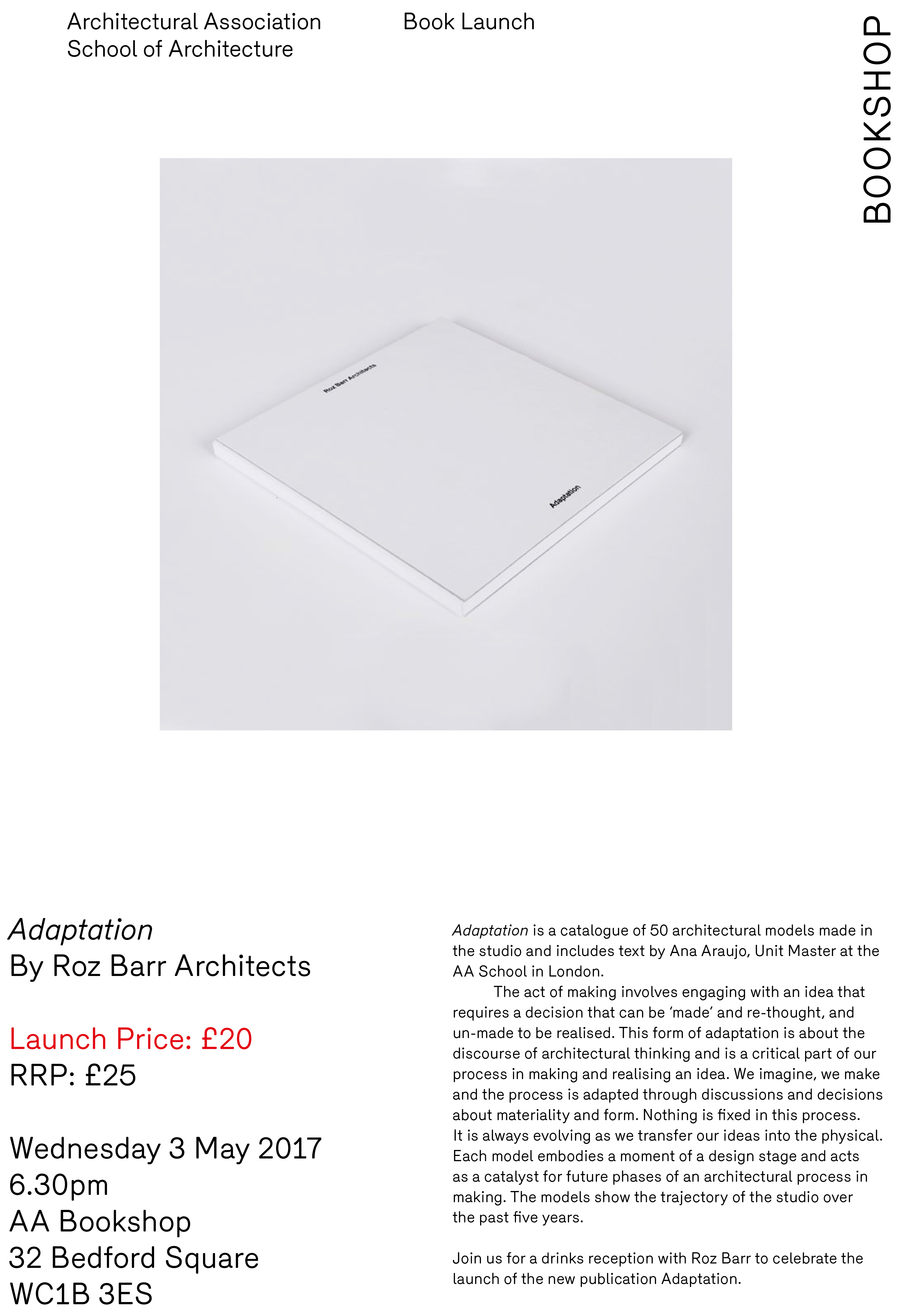 Roz barr architects book launch 3 may aa bookshop 170426 roz barr architects may 2017 ccuart Choice Image