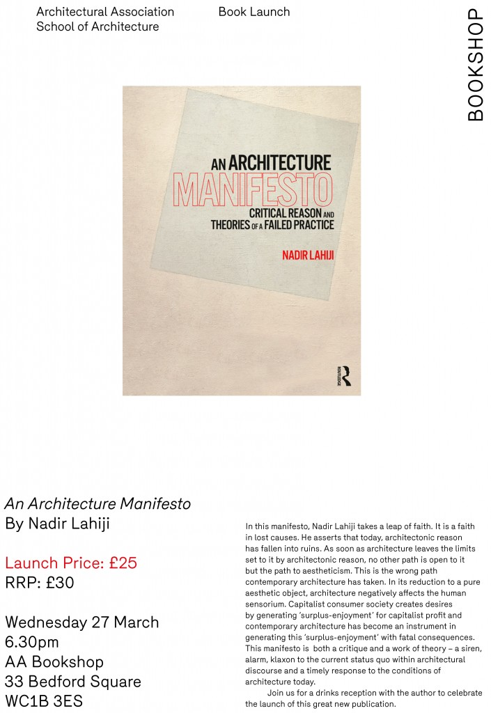 AnArchitectureManifesto