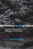 Aesthetics Equals Politics