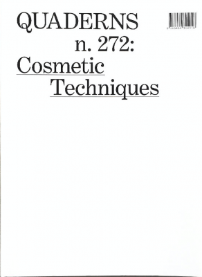 QUADERNS #272: Cosmetic Techniques